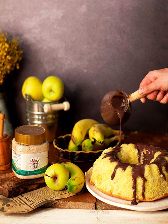 سویق میوه ای سیب موز